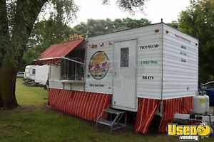 Used Mobile Kitchen Food Concession Trailer For Sale In Michigan