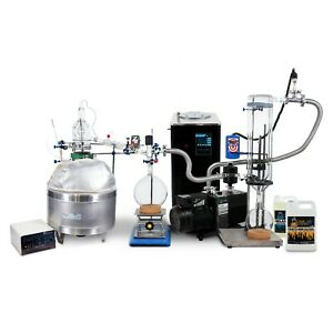 Usa Lab Premium 12l Short Path Distillation Turnkey Kit Usa Made Glass