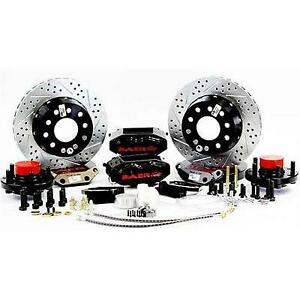 Baer Brakes 12 Inch Rear Ss4 Brake System With Black Calipers Black 4402000b