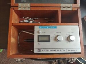 Great Condition Rank Taylor Hobson Surtronic 3 Surface Profilometer 112 1550