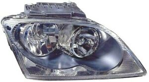 For 2005 2006 Chrysler Pacifica Right Rh Headlamp Assembly Halogen Wo Project