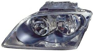 For 2005 2006 Chrysler Pacifica Left Lh Headlamp Assembly Halogen Wo Project