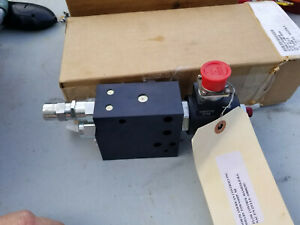 2 Hydraulic Manifold Assembly North American Controls Solenoid Valve