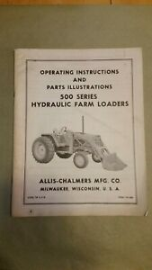 Allis Chalmers 500 Series Loader Operator s Manual