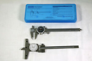 Lot Of Two Calipers Mitutoyo Depth And Fowler Sae 239