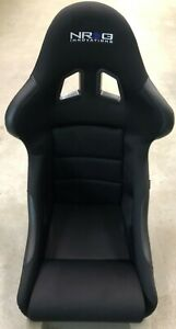 New Return Nrg Frp 311 Frp Racing Bucket Seat Medium Size Black Finish