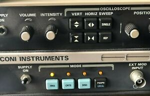 Marconi Instruments 2955a Radio Communications Test Set 2957a For Parts