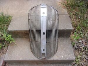Nors 1938 38 Plymouth Deluxe Road King Radiator Grille Louver Assembly 767529r