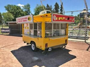 Used 8 X 10 Street Food Festival Concession Trailer Mobile Food Unit For Sal