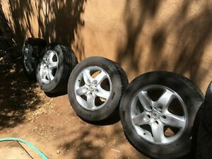 Porsche Cayenne Oem 18 Wheels Michelin Snow Tires