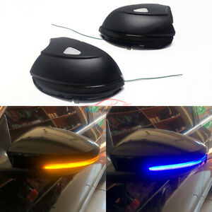 For Vw Passat B7 Cc Scirocco Jetta Mk6 Side Mirror Led Dynamic Turn Signal Light