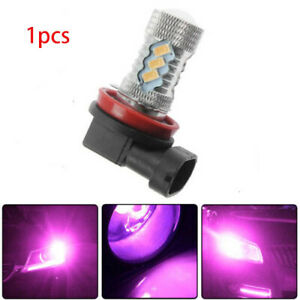2pcs Replace H11 H8 Purple Pink Projector Lens Led Bulbs Truck Fog Lights Lamp
