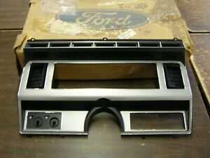 Nos Oem Ford 1980 1989 Large Truck Pickup Dash Bezel 1981 1982 1983 1984 1985