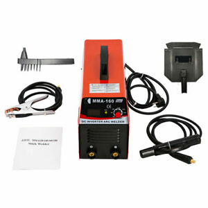 Handheld Mini Mma Electric Welder 110v 20 160a Inverter Arc Welding Machine Tool