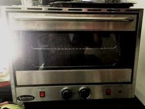 Convection Oven Countertop Half Size 120v Commercial Star Manf Used Twice