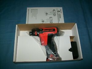 New Snap On Lithium Ion Cts761aowb 14 4v 3 8 Drive Cordless Hex Screwdriver