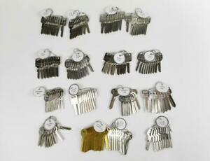 168 Ilco Taylor Automotive Key Blanks For General Motors Amc Ford Cars 1098