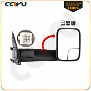 Cciyu Top Tow Mirrors Rh For 02 08 Dodge Ram 1500 2500 3500 Power Heated