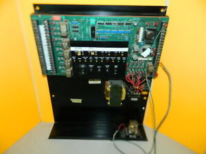 Vintage Simplex Autocall Fire Alarm Control Panel System Dated 1982