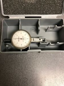 Mitutoyo Dial Indicator Lever Type With Case 0001