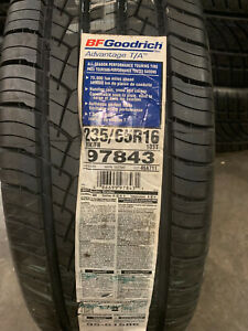 4 New 235 65 16 103t Bfgoodrich Advantage T A Tires