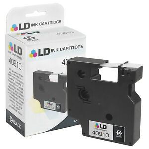 Ld Compatible 40910 Black On Clear Laminated Tape For Dymo Labelmanager 200 300