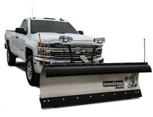 Snowdogg Stainless Heavy Duty 8 Plow With Wiring Mount Hardware