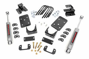 Rough Country Lowering Kit Fits 2007 2015 Chevy Silverado Gmc Sierra 1500 2wd