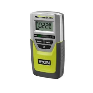 Moisture Meter Pinless Digital Lcd Mold Detector Display Battery Operated