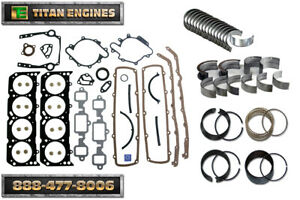New Fits Chevy Gmc Truck 350 5 7 Vortec Engine Remain Kit 1996 2002