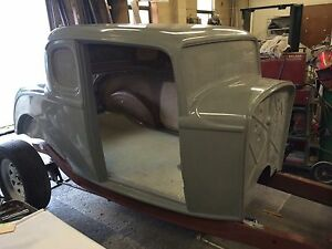 1932 Ford 5 Window Coupe Body Hot Rod Rat Rod Street Rod Project Graffiti