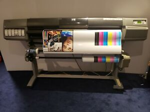 Hp Designjet 5500 Uv 60 inch Large Format Printer Excellent Working Conditions