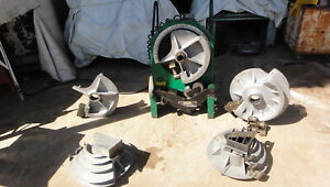 Greenlee 555 Bender With Emt And Ridgid Shoe Group See Video Working