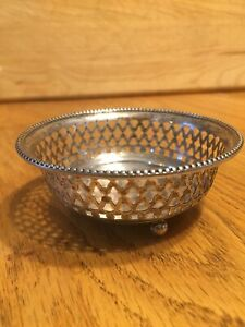 Vintage Sterling Silver A228 Thimble Holder 3 1 4 X1 1 2 Tall