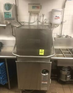 Hobart Am15 Commercial Dishwasher Pre post Sink tables Ss200 In Sink Erator Tray
