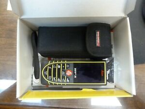 Leica Disto D5 Laser Distance Meter Measuring Tool With Pouch In Box 4x Zoom 45