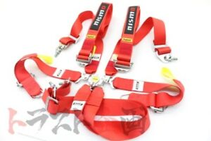 660111118 Nismo 6 Point Racing Safety Harness Universal Fia Approved Gtr R32 R35