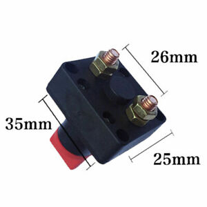 300a 12v Car Boat Battery Power Isolator Master Disconnect Cut Off Switch Ea7
