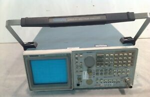Tektronix 2715 Spectrum Analyzer 9khz To 1 8 Ghz 75 Ohms