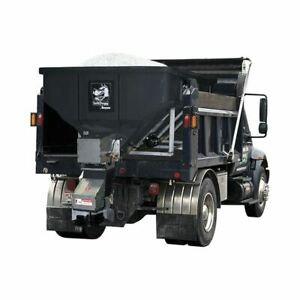 Saltdogg Shpe6000a 6 Yd Elec Poly Vbox Spreader W Auger Extended Chute