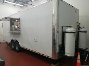 8 5 X 24 Mobile Kitchen Food Concession Trailer For Sale In Florida