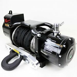 Tuff Stuff Ts 12500 Xt Xtreme Recovery 12 500lb Wireless Waterproof Winch Steel