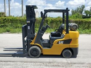 2015 Caterpillar Forklift 6500 Lbs Cat 2c6500 Propane Low Hours