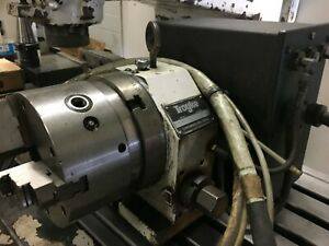 Troyke Dl 6 5b Rotary Table With Tailstock And Drive