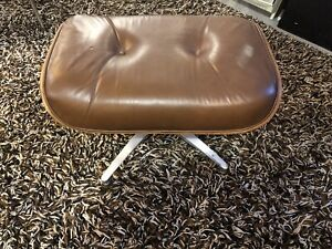 Vintage Herman Miller Inspired Eames Lounge Chair Ottoman