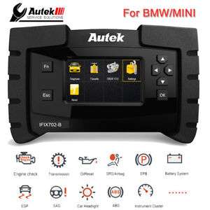 Automotive Obd2 Diagnostic Tool Full System Abs Srs Crash Data Oil Reset For Bmw