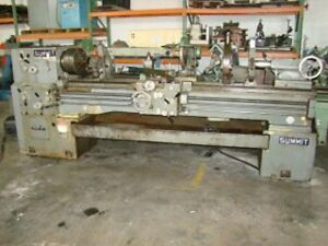 Summit 19 4 X 80 Engine Lathe
