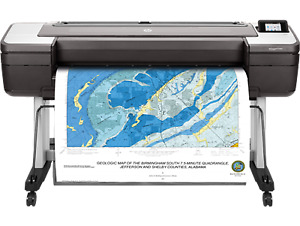 Hp Designjet T1700dr 44 Inch Wide Large Format Dual Roll Postscript Printer New
