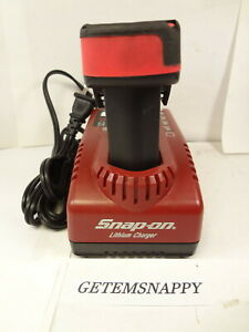 Snap On Cordless Battery Charger Orange 14 4v Lithium Ion Battery Set