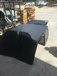 2009 Jeep Wrangler Roof Hard Top 4 Dr unlimited Rear Panel 09 10